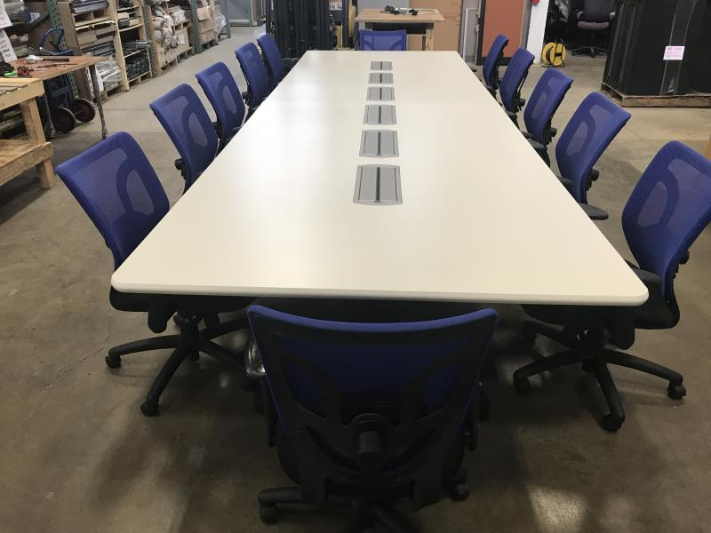 Laminate  Conference Table 16' L x 5' W