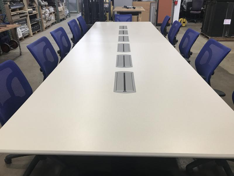 Laminate  Conference Table 16'L x 5' W