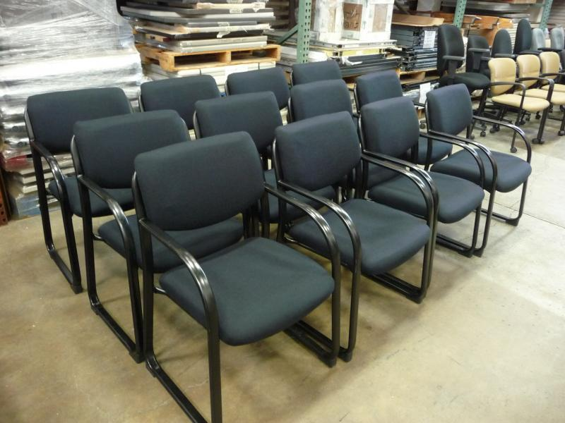 Steelcase Snodgrass Guest Chairs  (Black)